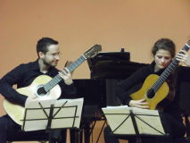 Duo gitara Evita i Stevan Jović