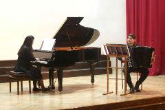 Koncert: Kristina Stepanović - klavir, Anita Petrović - harmonika
