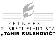 Logo XV Susreta flautista