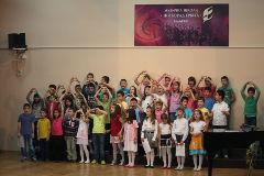 Pripremni razred na koncertu povodom 60 godina Muzičke škole
